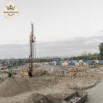 """Подготовка к началу строительства дома """"Ноттингем"""" в августе 2021 года"""